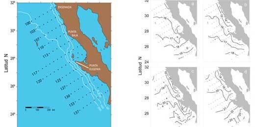 Revela estudio de 10 años un enfriamiento paulatino en la Corriente de California