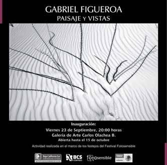 """Llega """"Paisaje y Vistas"""" de Gabriel Figueroa a la Galería Carlos Olachea"""