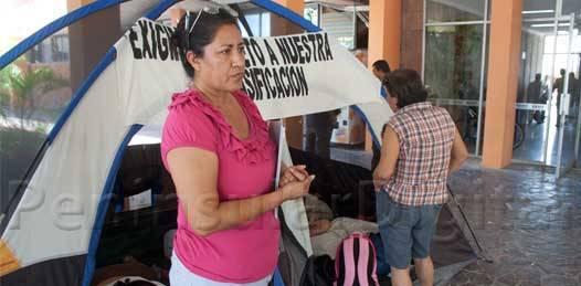 Se cierra nuevo etapa en el caso de trabajadoras comundeñas. Ya son seis años reclamando a Covarrubias el despojo de sus bases