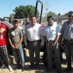El Dr. Félix Alfredo Beltrán Morales agregó que es un tractor de poco más de 60 caballos, y que en los próximos días los estudiantes ensayarán pruebas de patinamiento y potencia, las cuales mostrarán el tipo de implementos que puede jalar el tractor.