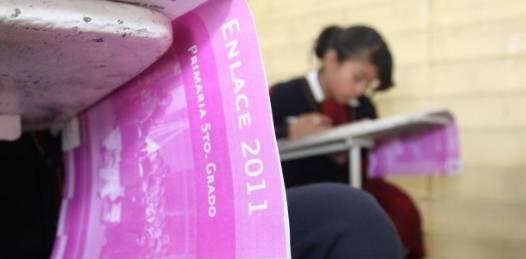 Por debajo del promedio nacional  las calificaciones de estudiantes estatales en la prueba ENLACE