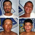 Felipe Antonio Espinoza Castro, Jesús Guadalupe Arévalo Montaleno, José Antonio Bracamontes Arévalo y Rafael Baltazar.