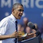 """La imagen presidencial permanece alta para el 55 por ciento de los electores encuestados, y un 49 por ciento respondió que ahora se encuentra """"inclinado"""" a votar por la reelección de Obama."""