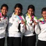 Alicia Guluarte, se convirtió en la primer medallista de la delegación sudcaliforniana presente en los Juegos Panamericanos de Guadalajara, donde ayer por la noche Paola Espinosa Sánchez, tenía también actividad en la final de los clavados.