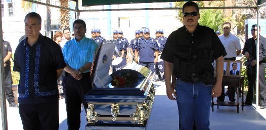 No quedará impune el asesinato del Comandante ministerial garantiza el Procurador