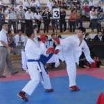 Alberto Arturo Ramírez Gutiérrez de karate do, gana segundo lugar de acuerdo a la apreciación del jurado.