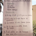 Imagen cartel pollos