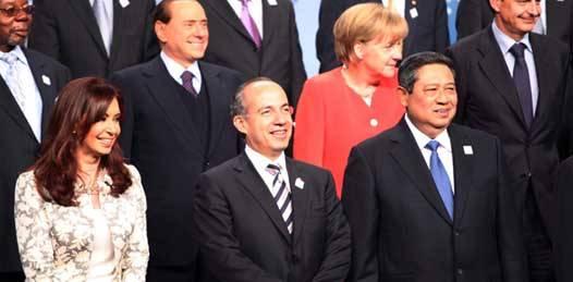 La próxima reunión será en Los Cabos señala Calderón al asumir presidencia del G20