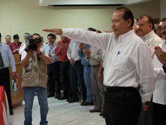 Asume José Carlos Cota Osuna dirigencia de la CNOP local