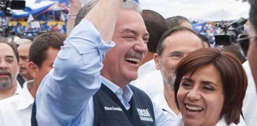Habla Marcos Covarrubias del tema seguridad ante los michoacanos