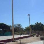 Vecinos de la colonia INFONAVIT denunciaron ante funcionarios de Servicios Públicos un grave problema de vandalismo.
