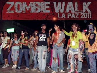 Tolerancia, respeto y lamentos, los ingredientes de la marcha zombi