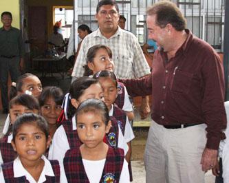 En Los Cangrejos continúa el programa Presidente en tu Escuela