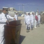 Durante la ceremonia, se entregó la condecoración de primera clase, al Contralmirante del Cuerpo General Diplomado del Estado Mayor y Comandante del Sector Naval de Los Cabos, Felipe Solano Armenta, por sus 40 años de servicio en la Armada de México.