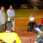 En el equipo que habrá de competir a partir del diez de noviembre, especial atención merece Yazmith Bataz Carballo, la cual es una atleta en silla de ruedas que representará al Estado en esta próxima Olimpiada.
