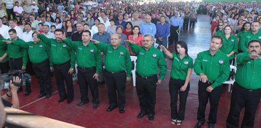 """Las cosas """"van a cambiar en el sindicato de burócratas"""" advierte el nuevo líder municipal"""