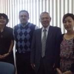 El Dr. Honna Toshimasa, Vicepresidente de la Universidad de Tottori, Japón, visitó las instalaciones de la UABCS.