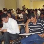 El CENEVAL aplicó el Examen General de Egreso de la Licenciatura (EGEL) a 115 aspirantes el día 2 de diciembre de 2011, en el Centro de Convenciones de la UABCS.