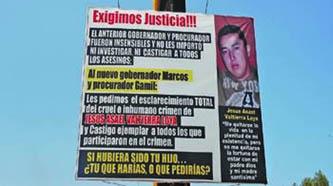 """""""No hay extradición"""", aún, para el presunto asesino de Asael Valtierra"""