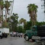 """Gustavo Durán Arrambídez, representante del sindicato gremial de trabajadores de la industria del transporte de carga en general y materiales para la construcción de Baja California Sur (BCS), señala que para que terminen los """"bloqueos, manifestaciones"""" es indispensable que el gobierno del estado y los ayuntamientos """"simple y sencillamente"""" aplique """"la Ley"""" a los transportistas."""