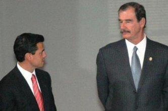 Defiende Fox a Peña Nieto y elogia a AMLO