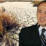 Calderón Hinojosa expuso, finalmente, que los Estados que enfrentan problemas de sequía ya están siendo atendidos. Entre ellos está Baja California Sur (BCS) y otras diecinueve entidades.