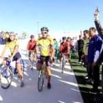 El alcalde puso en marcha la competencia de ciclismo en Los Cabos.