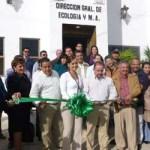 Agúndez Montaño con Jesús Druk inauguró las oficinas de Ecología y Medio Ambiente.