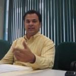 Luis Alonso Gastélum Tirado, subdelegado del IMSS, comentó que aumentó la afiliación de trabajadores al IMSS. (Lupita Gómez)