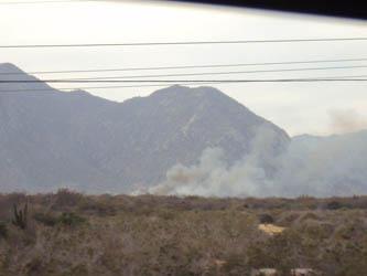 Son provocados los incendios en Los Cabos