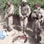 Captura de vídeo de marines orinando sobre cadáveres de combatientes afganos