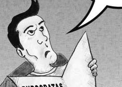 Los cartones de Ricardo / Paro en Mulegé