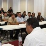 Arreola Leal destacó la concertación efectuada recientemente en la ciudad de México en la que por primera vez se logra que los fondos federales se destinen de manera equitativa para las corporaciones de Seguridad en el Estado.
