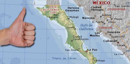 Sudcalifornia está libre de violencia, asegura gobierno estadounidense a sus turistas