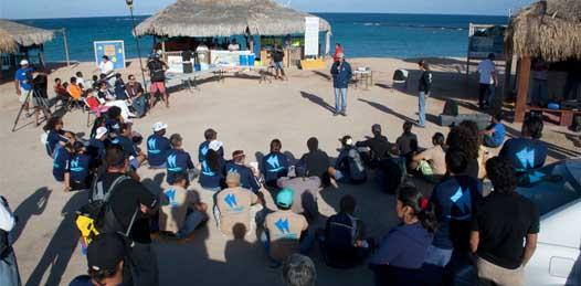 Navegantes celestiales hacen escala en Cabo Pulmo