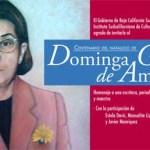 Dominga G. de Amao nació el 20 de febrero de 1912, en El Rincón, cerca de El Valle Perdido, en la Delegación de San Antonio, Municipio de La Paz. Fue alumna de la profesora Rosaura Zapata Cano.