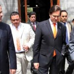 En la reunión entre el Gobernador y el Secretario de Salud no pudo faltar la compañía de su tesorero, el secretario de Finanzas Antonio Ramírez Gómez, y de Santiago Alan Cervantes Aldama, secretario de Salud del estado.