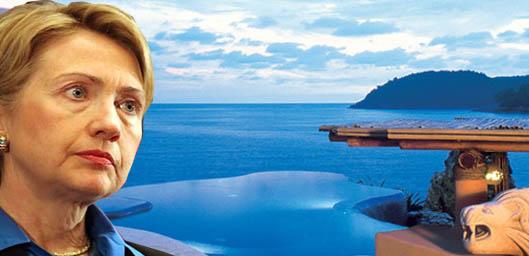 Llega Hillary Clinton a Los Cabos
