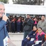 El Gobernador Marcos Covarrubias afirmó que en materia educativa, su administración está haciendo bien la tarea al lograr la mayor inversión en infraestructura y acciones educativas en un primer año de gobierno.