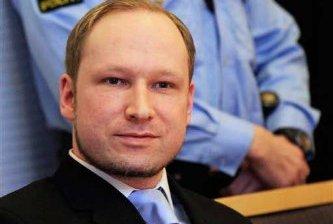 Exige terrorista noruego un premio y su libertad