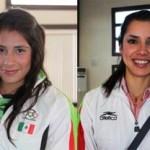 Las atletas sudcalifornianas Fabiola Elizabeth Ayala Soto y Alicia Guluarte López, preparan su participación en eventos clasificatorios en las disciplinas de atletismo y canotaje, respectivamente.
