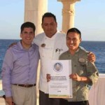 Grupo Solmar, recibió la tarde del pasado lunes, el Distintivo H por parte del Secretario Estatal de Turismo.