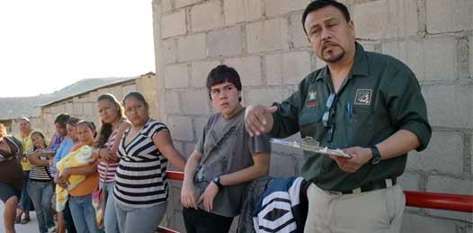 Por fin, ampliarán red de agua en la Navarro Rubio