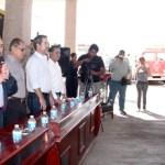 """""""Pese a la difícil situación económica, se han redoblado esfuerzos para cumplir con nuestra responsabilidad de apoyar a toda la población, desde Buena Vista hasta Migriño"""", expresó el alcalde José Antonio Agúndez Montaño."""