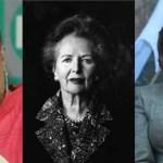 """""""En el escenario internacional"""", la alcaldesa de La Paz siente mayor admiración por la ex primer ministro de Inglaterra, a la que Roger Waters le cantara Maggie what have you done por su intervención en Las Malvinas, Margaret Tatcher."""