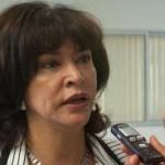 La titular de la Dirección de Desarrollo Social del ayuntamiento de La Paz, Araceli Domínguez Ramírez, invita a la ciudadanía a acercarse para cambiar el inodoro que tiene en casa por un Aqua Less.