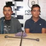 Jonathan Guadalupe Villa Márquez y Adrián Ramírez Villa.