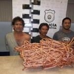 Octavio Villaseñor Durazo, Sergio Segoviano y Roberto Murillo Sánchez.
