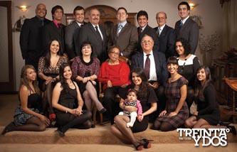 Emotiva reunión familiar de los Ayala Montoya