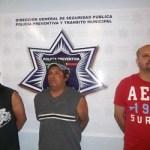 Bardomiano Rendón Jiménez, Constantino Rendón Jiménez y Cristian Romero Pérez.